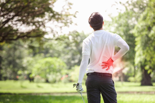 Stock image of inflammation area that can be helped by infrared clothing